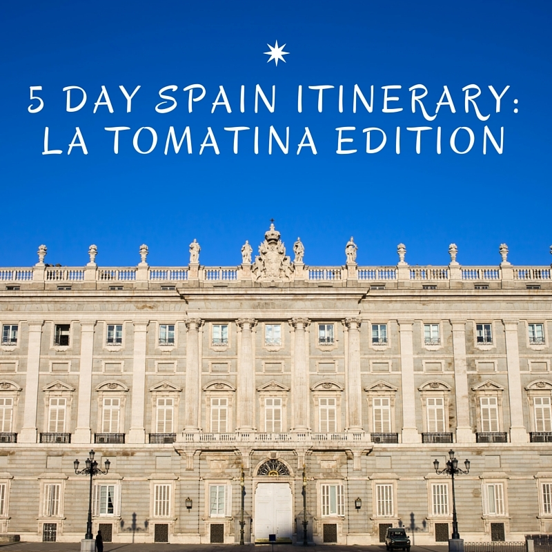 5 Day Spain Itinerary
