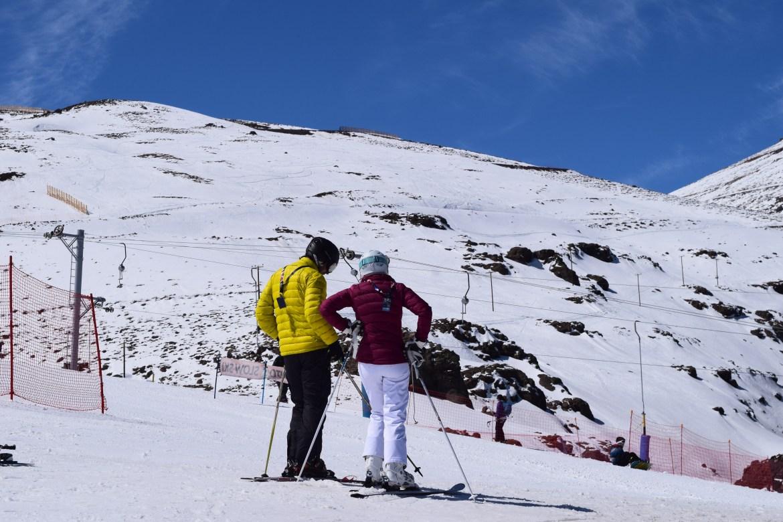 snowboard chile