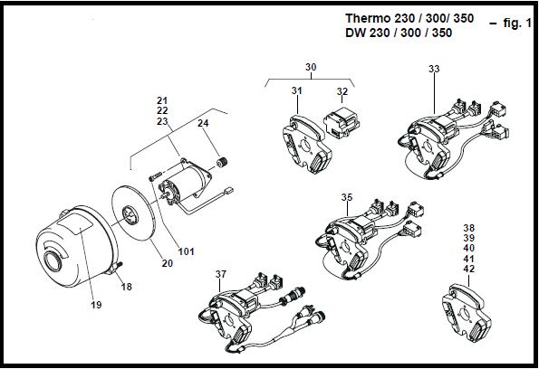 Webasto Thermo 230 300 350 DW230 DW300 DW350 waterkachel