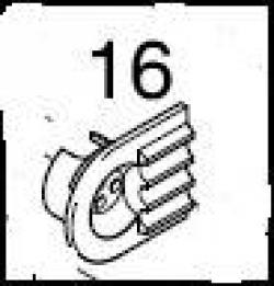 Eberspächer Afdichtschild voor Hydronic 10 en M