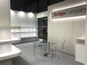 Allestimenti fieristici Milano Fiera Lineapelle Stand Bridge Company