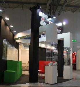 Allestimenti fieristici Milano Stand CONVERFLEX Tecnolaser