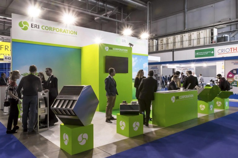 Allestimenti Fiera Milano MCE EXPOCOMFORT Stand ERI CORPORATION