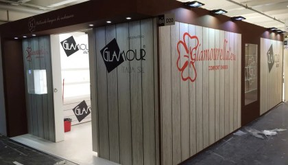 Allestimenti fieristici EXPO RIVA SCHUH Stand Glamourella