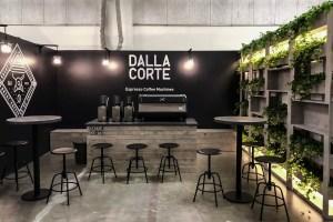Allestimenti fieristici Milano Fiera MILAN COFFEE FESTIVAL Stand DALLA CORTE 02