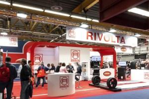 Allestimenti fieristici Bologna Fiera AUTOPROMOTEC 2019 Stand Rivolta
