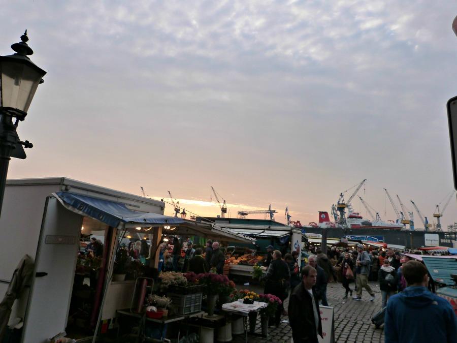 Vroeg opstaan op zondag voor de Fischmarkt