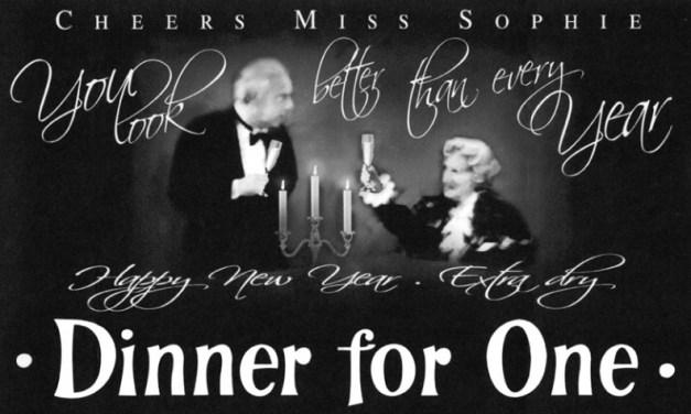 Elk jaar hetzelfde: Dinner for One