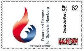 Olympia postzegel