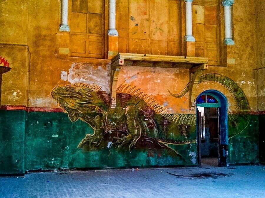 Murals in de Beelitz Heilstätten