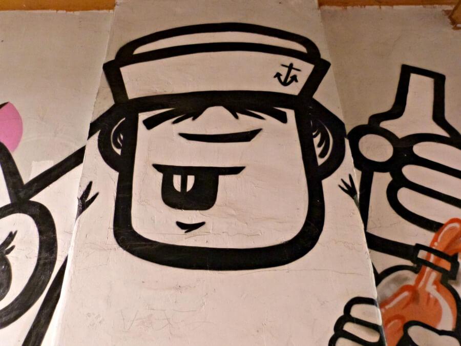 Rebelzer is een van Hamburgs bekendste street artists