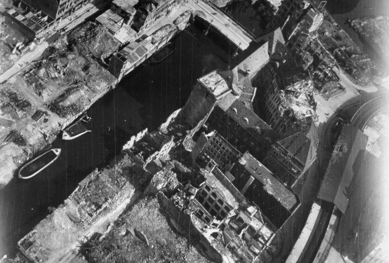 USAAF Hamburg Rödingsmarkt 1945