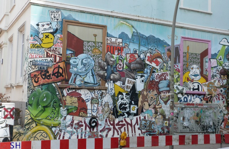 Altona Street Art - Standort Hamburg