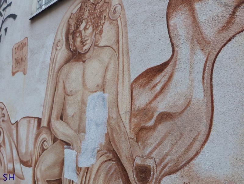 Gecensureerde wijndrinker - Standort Hamburg