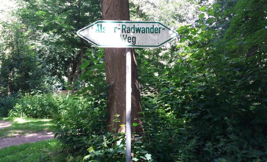 Activiteiten rondom de Alster: de Alsterradwanderweg