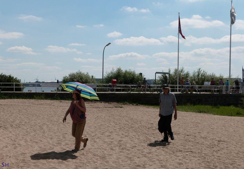 Op het Elbstrand Standort Hamburg