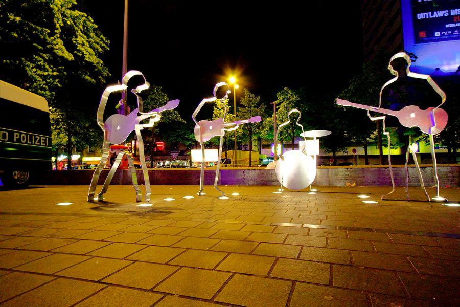 The_Beatles in Hamburg - Beatles Platz