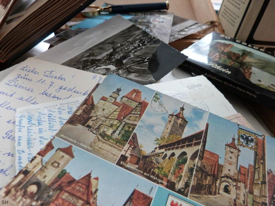 Ansichtkaarten en brieven - Standort Hamburg
