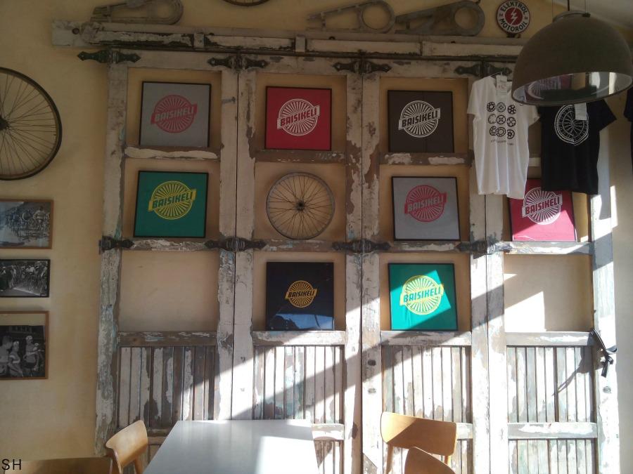 Cafe Baesikeli Kopenhagen - Standort Hamburg