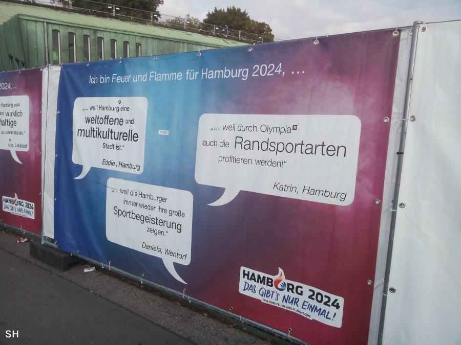 Feuer und Flamme Olympia 2024 - Standort Hamburg