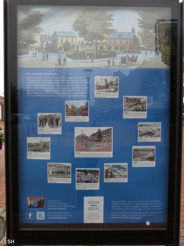 Een beetje historie op de Tibarg - Standort Hamburg