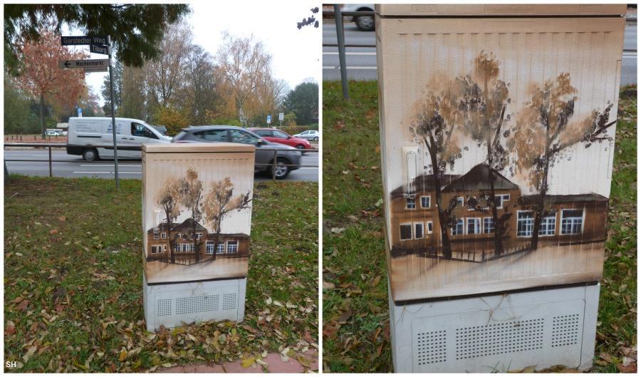 Street Art Schulz in Niendorf - Standort Hamburg