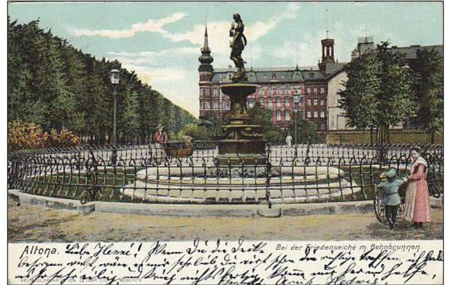 Bei der Friedenseiche Behnbrunnen
