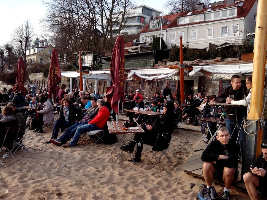 Chillen aan het Elbstrand - Standort Hamburg