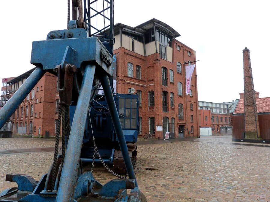Museumshof Museum der Arbeit