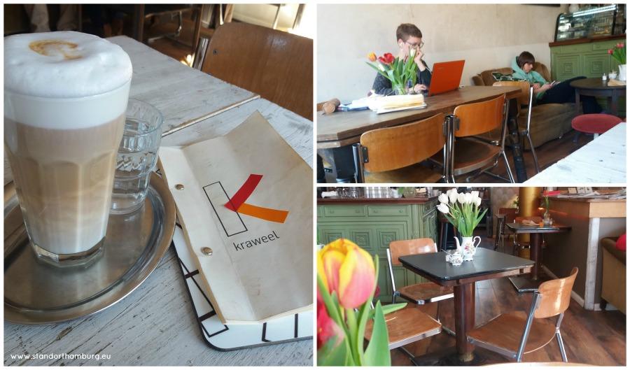 Kaffee und Kuchen in Hamburg - Hipsters bij Kraweel - Standort Hamburg