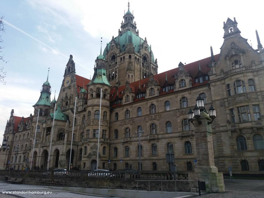 Neues Rathaus - Stedentrip Hannover - Standort Hamburg