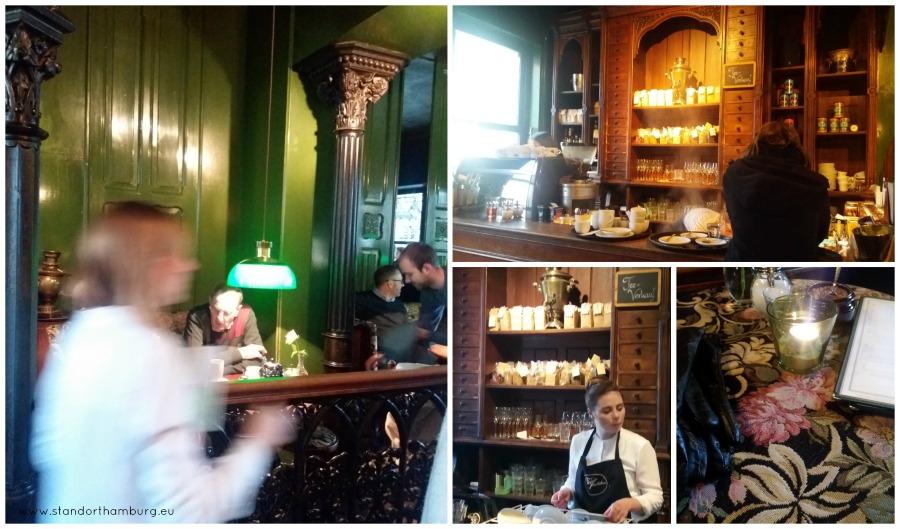 Tee bij het Teestuebchen - Standort Hamburg