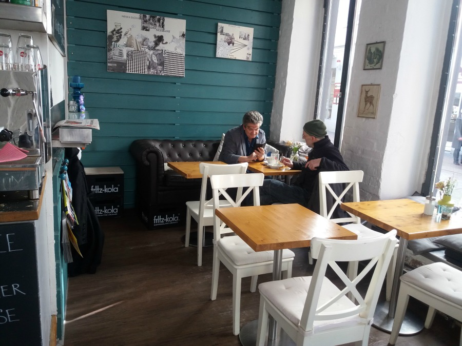 M20160401_ Standort Hamburg - Dagtrip naar Luebeck - Cafe Bar
