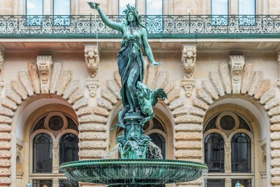 Gratis bezienswaardigheid in Hamburg: Rathaus