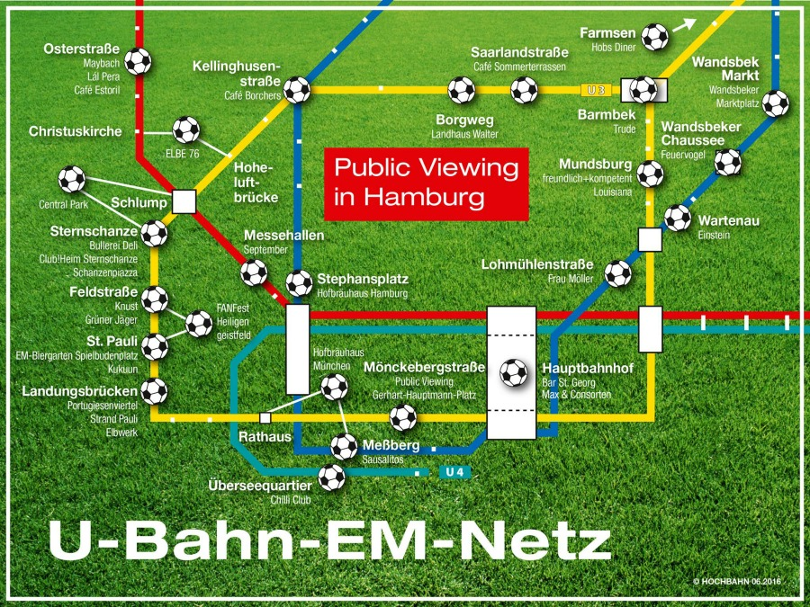 EM Public Viewing Hochban Hamburg