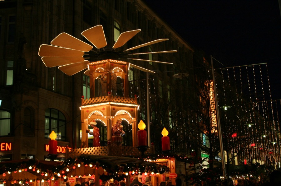 Kerstmarkten in Hamburg 2016 | Spitalerstraße