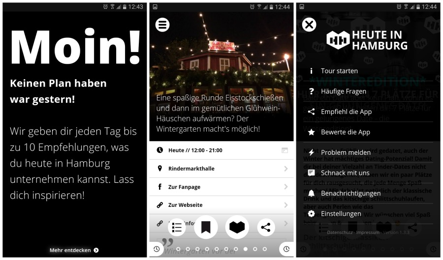 Aino in Hamburg app