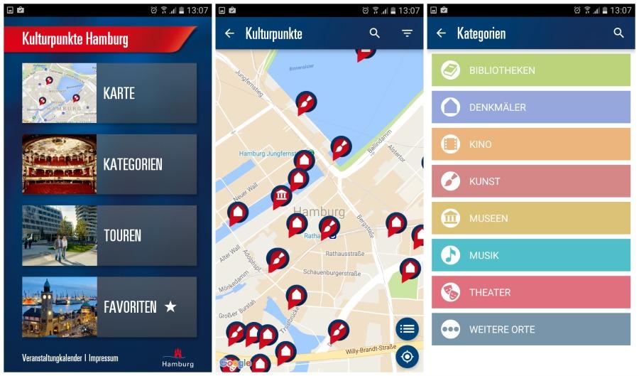 Cultuursnuiven in Hamburg, daar is een app voor