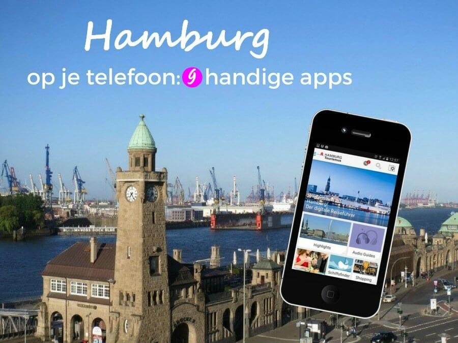 9 handige Hamburg-apps voor op je telefoon