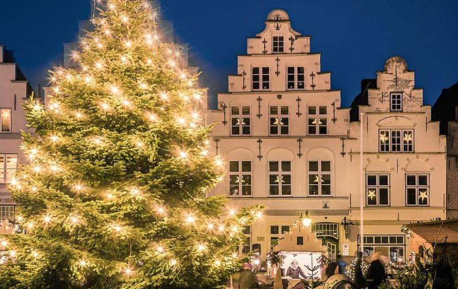 Weihnachten in Friedrichstadt, foto met dank aan friedrichstadt.de