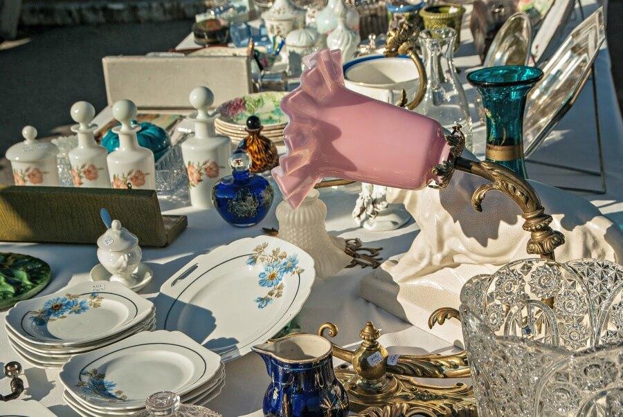 Bezoek Hamburg in de lente en ga shoppen op een Flohmarkt