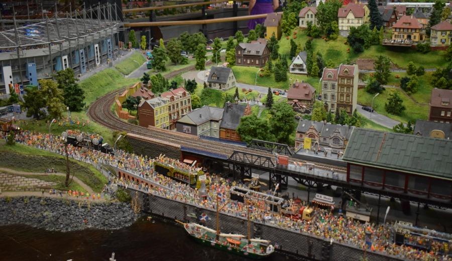 Bezoek Miniatur Wunderland in Hamburg