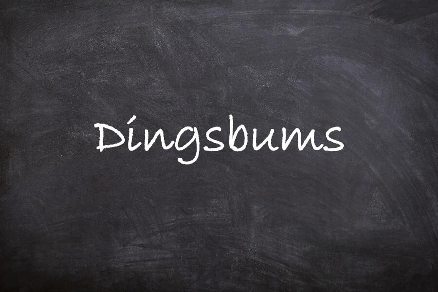 Favoriete Duitse woorden: Dingsbums