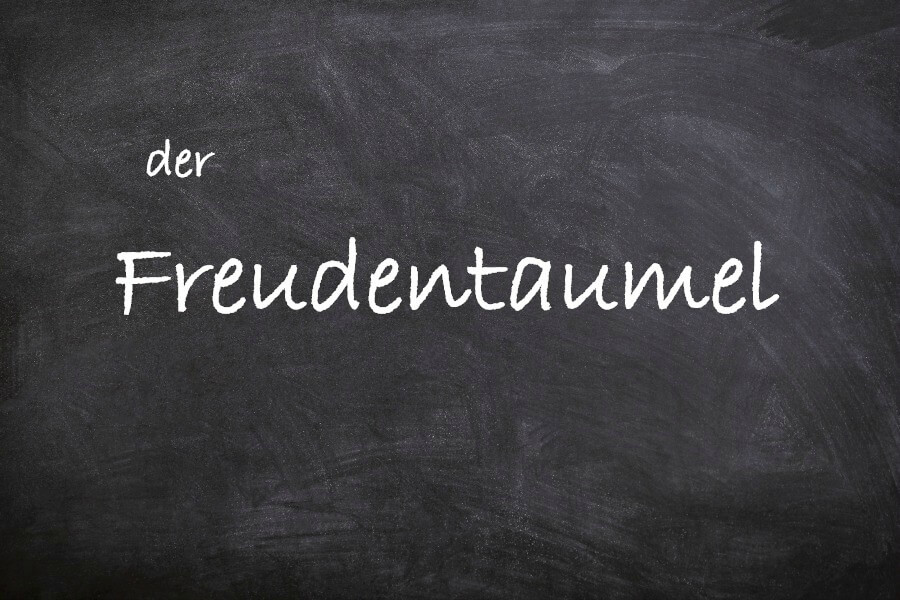 Favoriete Duitse woorden: der Freudentaumel