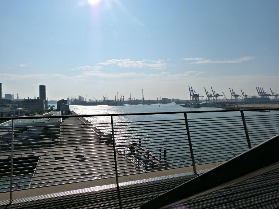 Uitzicht over hamburg: Dockland