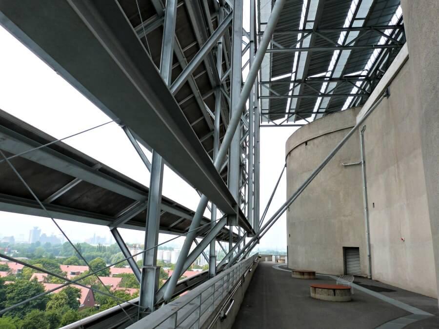 Uitzicht over Hamburg vanaf de Energiebunker