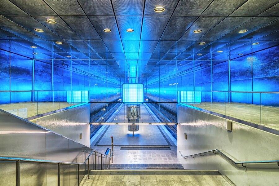 Stations in Hamburg: HafenCity Universität, u 4