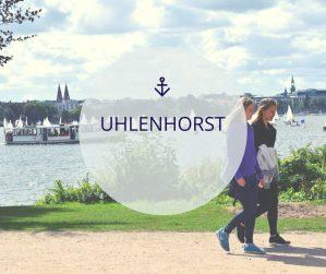 Wijk Uhlenhorst in Hamburg