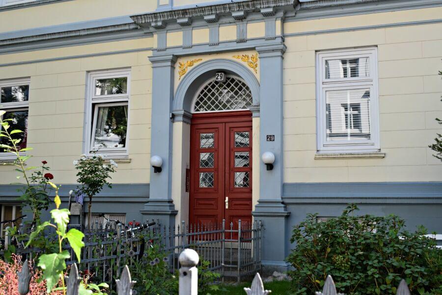 Fotospots in Hamburg: deuren in Altona