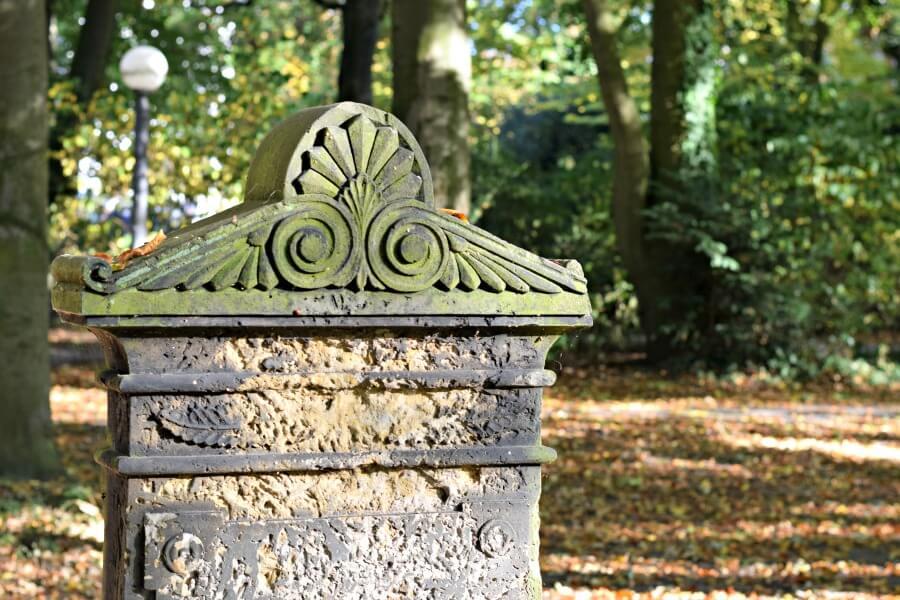 Parken en tuinen in Hamburg: Olsdorfer Friedhof